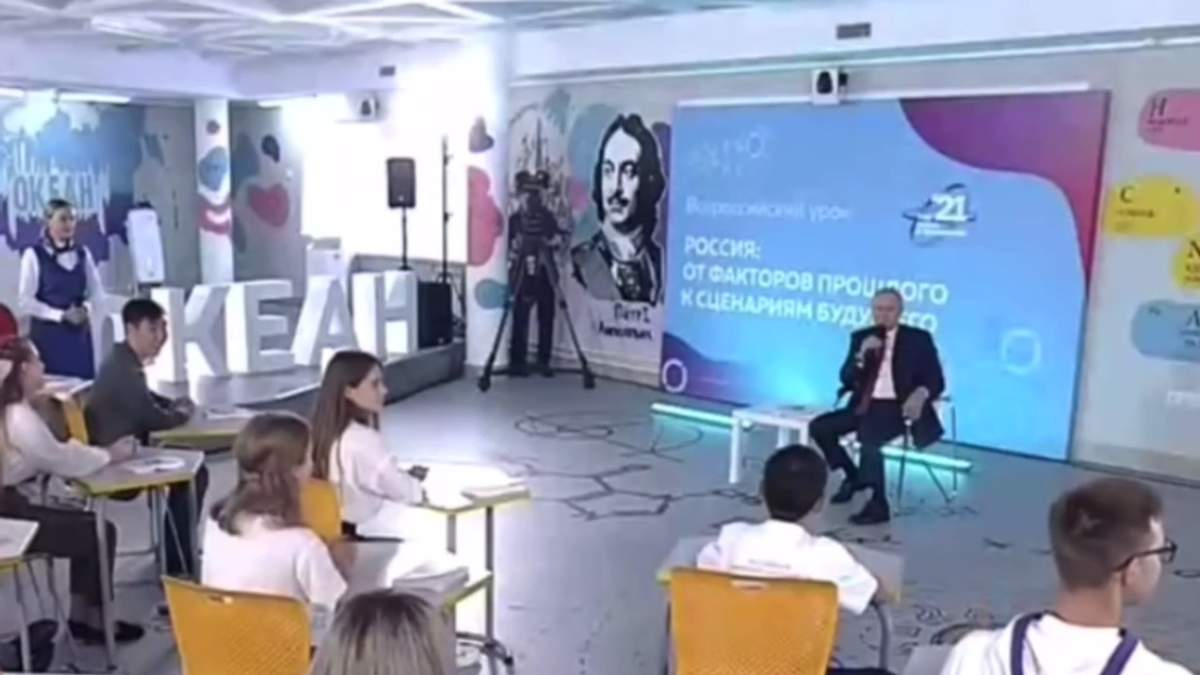 Прохання школяра підписатись на ютубі ввело Путіна у ступор - 24 Канал