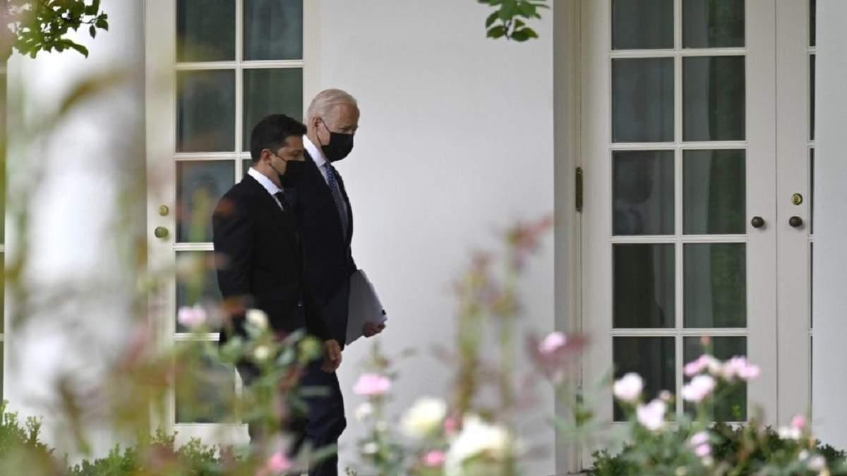 Понад 2 години розмов за зачиненими дверима: у США завершилася зустріч Зеленського і Байдена - 24 Канал