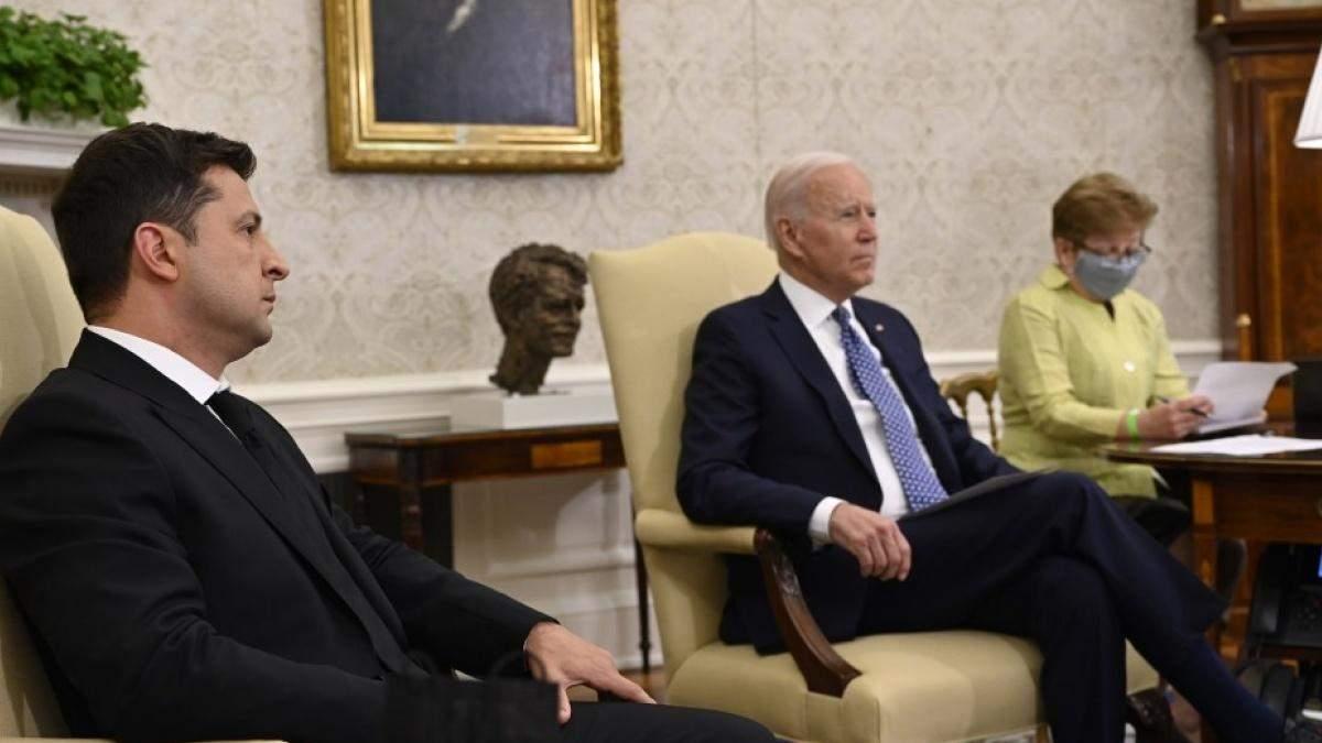 Зеленский пообещал Байдену невозможно: что было на встрече президентов