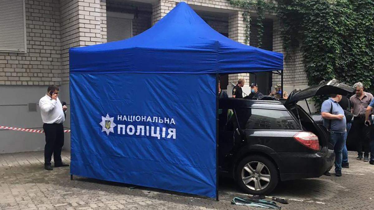 Нашли остатки гранаты: в Днепре прогремел взрыв в автомобиле – фото и видео с места