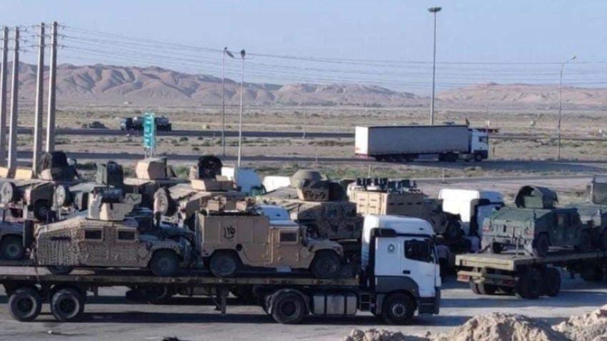Іран забрав з Афганістану американську військову техніку, – ЗМІ - Україна новини - 24 Канал