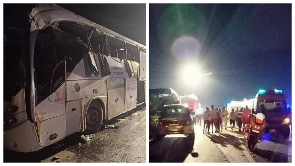 У страшну ДТП в Єгипті потрапив автобус дорогою з Шарм-ель-Шейха: багато загиблих - 24 Канал