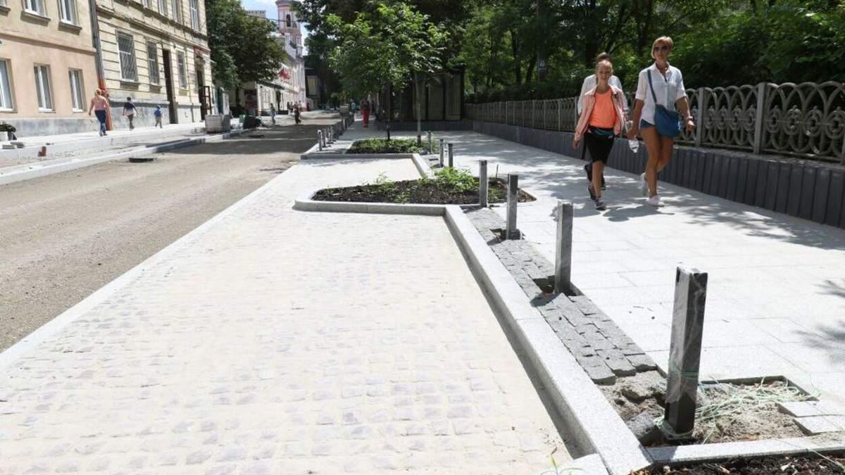 У Львові відкрили для проїзду відремонтовану Пекарську: як вона тепер виглядає - Новини Львова - Львів