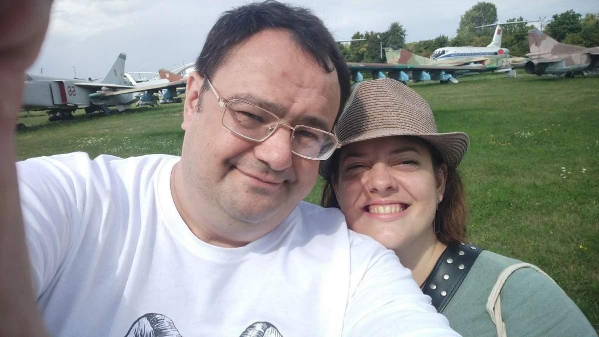 Денис і Вікторія Стаджі - білоруські біженці в Україні