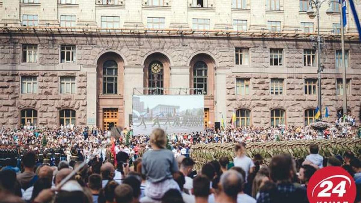 30-летие Независимости: какие праздничные мероприятия украинцам понравились больше всего
