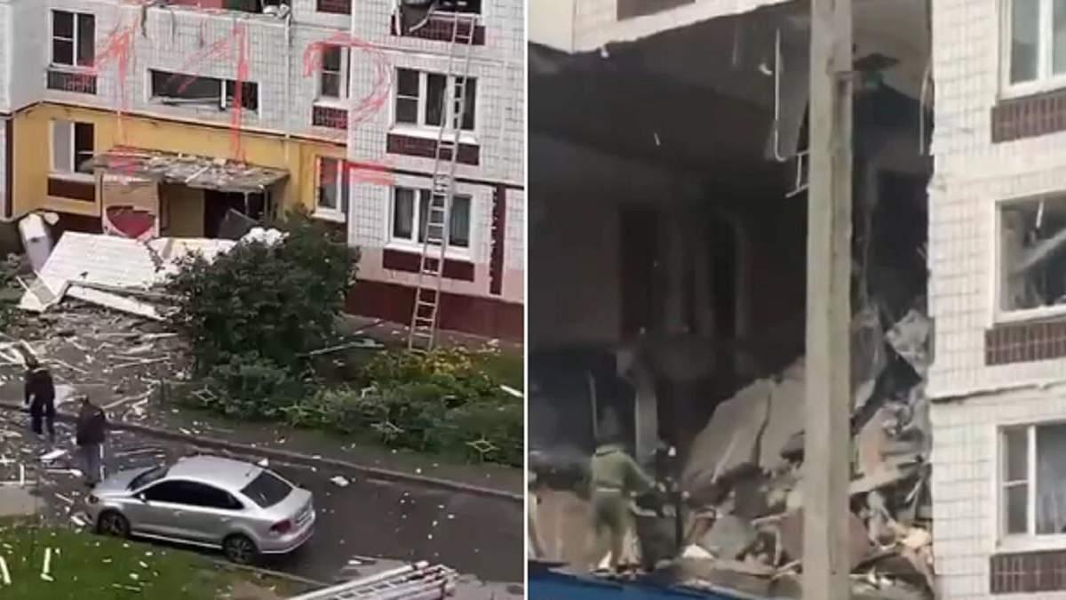 Потужний вибух прогримів у багатоповерхівці в Росії: знесло кілька поверхів - Росія новини - 24 Канал