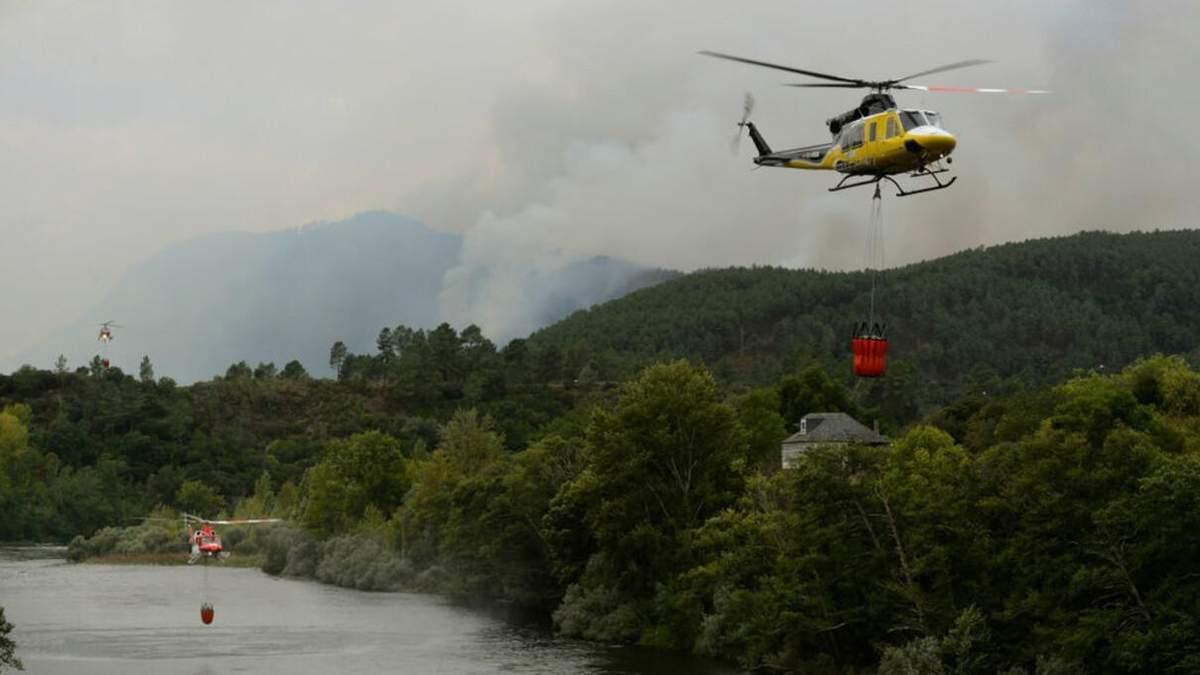 В Іспанії знову спалахнули лісові пожежі: підозрюють підпал - 24 Канал