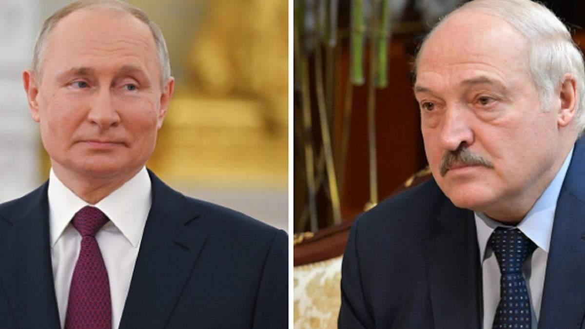 Путин и Лукашенко обсуждали поглощение Беларуси до поздней ночи