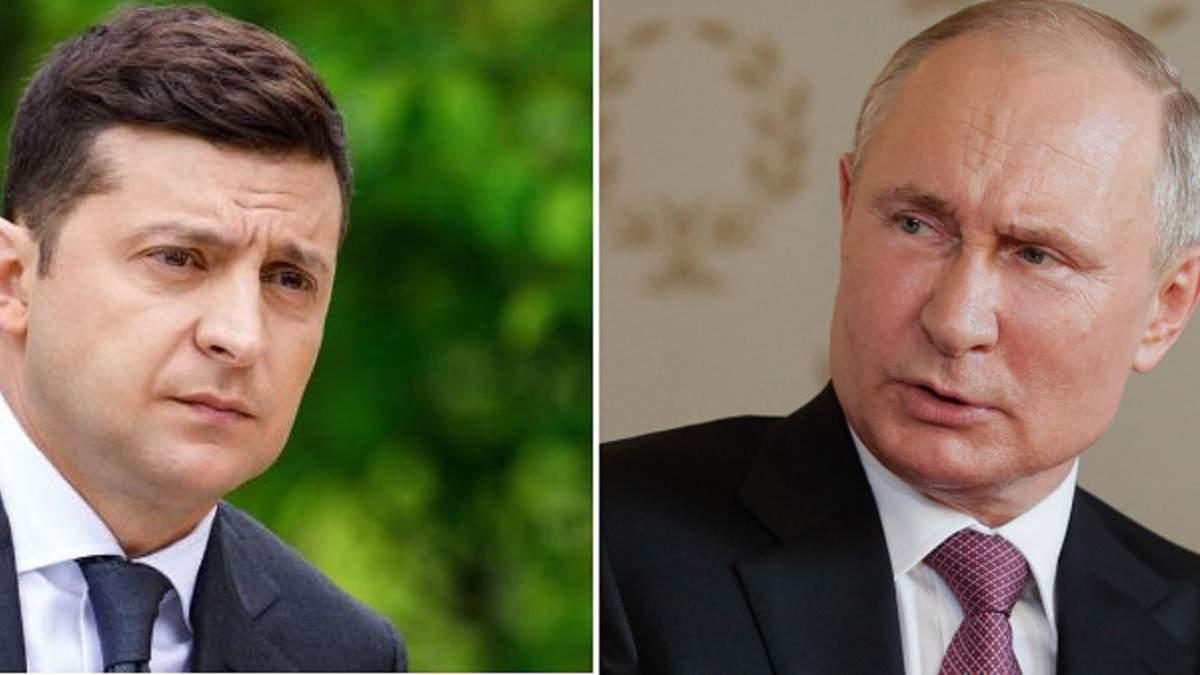 """Зеленский выразил надежду на """"предметную"""" встречу с Путиным"""