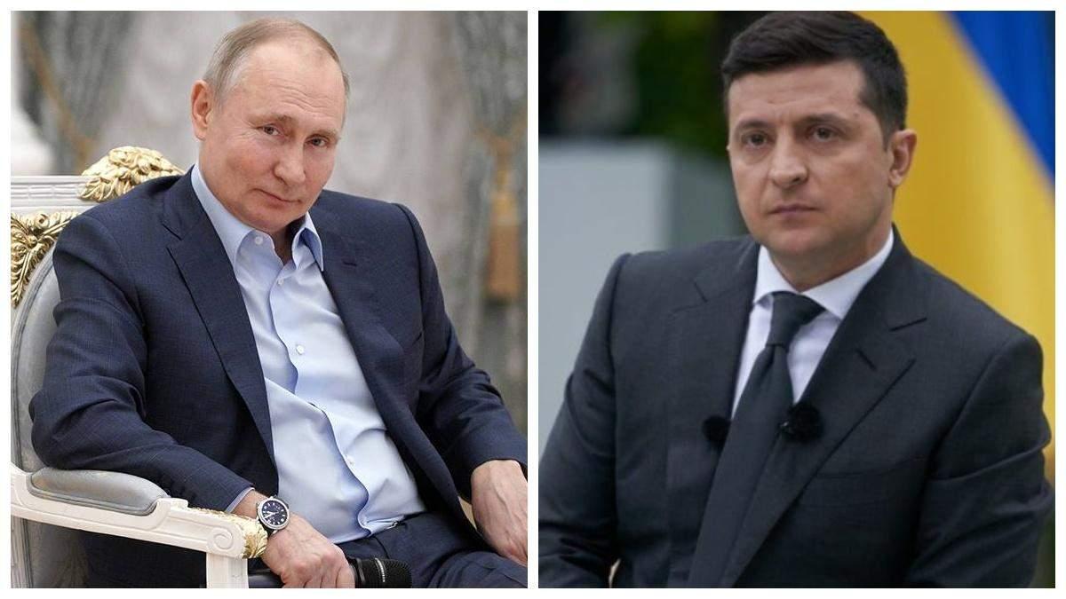 Путін відмовився від зустрічі з Зеленським для обговорення Криму й Донбасу - Україна новини - 24 Канал