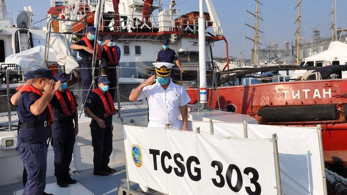 В порт Одеси з дружнім візитом навідалась берегова охорона Туреччини - Україна новини - 24 Канал
