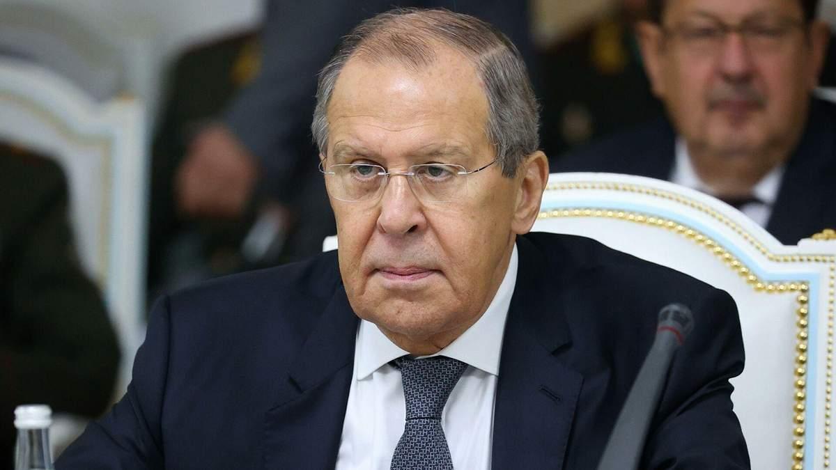 """Лавров обвинил Украину в """"клянчении"""" денег из-за """"Северного потока-2"""""""