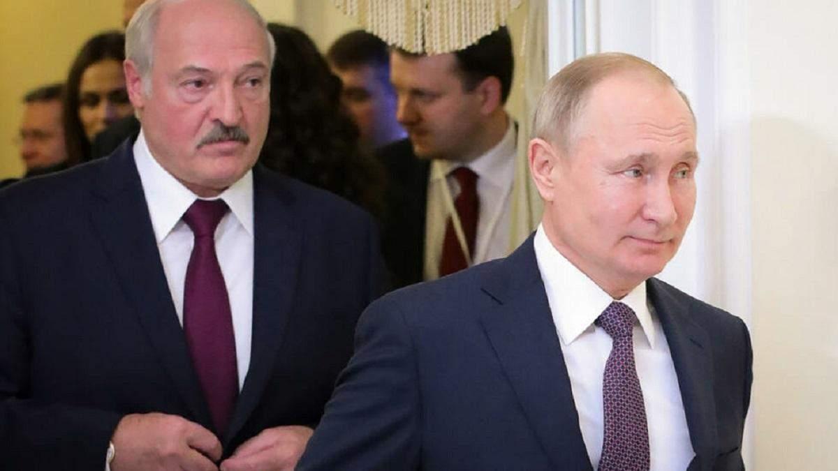 Інтеграція Росії та Білорусі: Путін використовує Лукашенка для війни проти України - новини Білорусь - 24 Канал