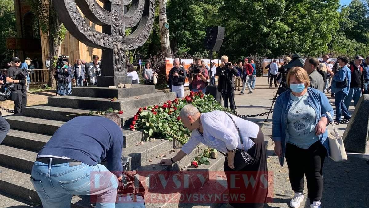 Минуло 80 років: у Києві проводять жалобні заходи до річниці трагедії в Бабиному Яру - Новини Київ - Київ