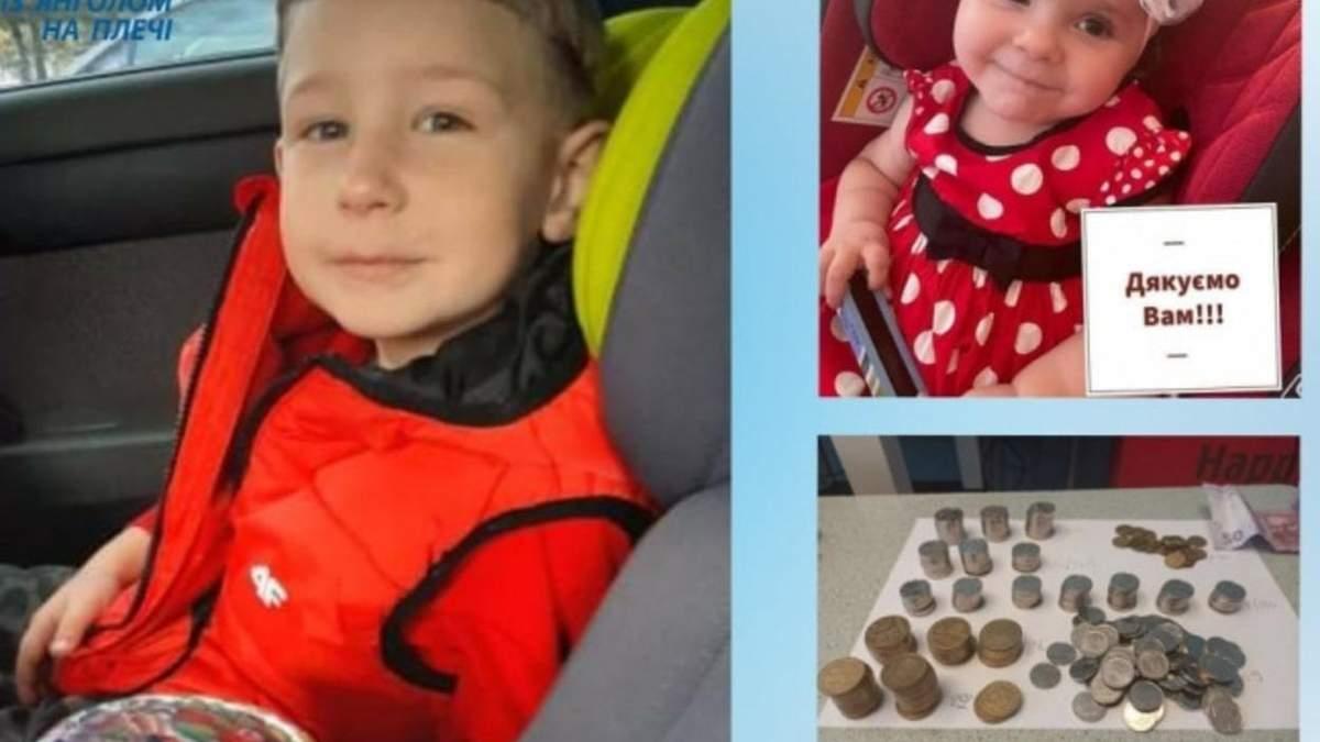 4-летний львовянин отдал все деньги из копилки для помощи девочке с СМА