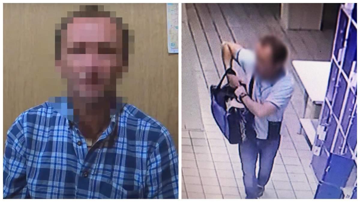 Уроженец Херсона прятал гранаты прямо в камере хранения Одесского АТБ