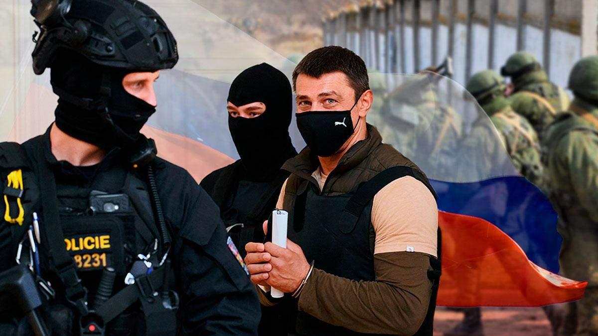 Блокировал украинских морпехов в Крыму: вся правда о задержанном в Чехии россиянине
