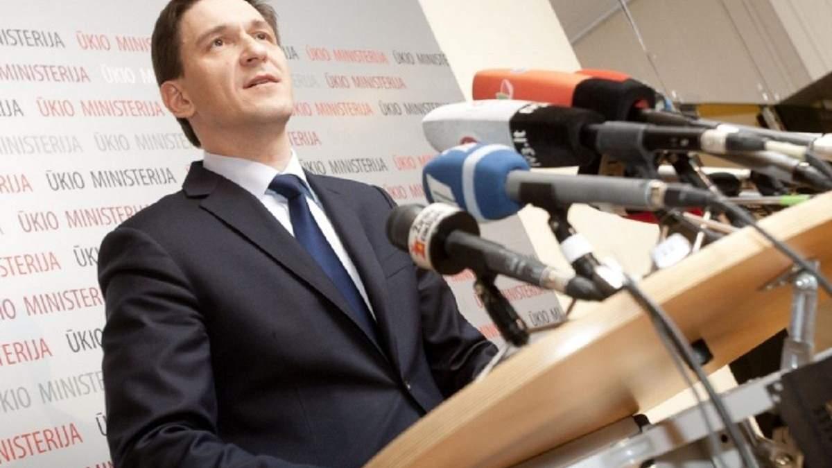 Газова криза можлива, – міністр енергетики Литви про тиск Росії на Європу - Україна новини - 24 Канал