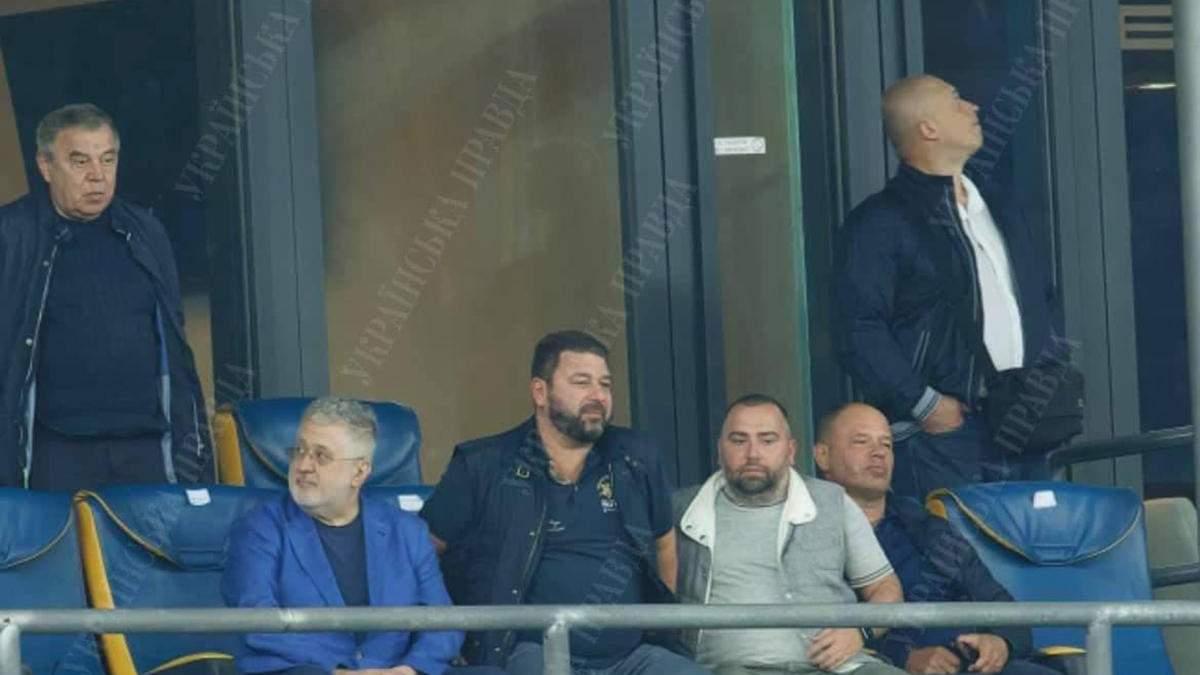 Арахамия, Витренко и Тищенко: чиновники засветились в VIP-ложе с Коломойским