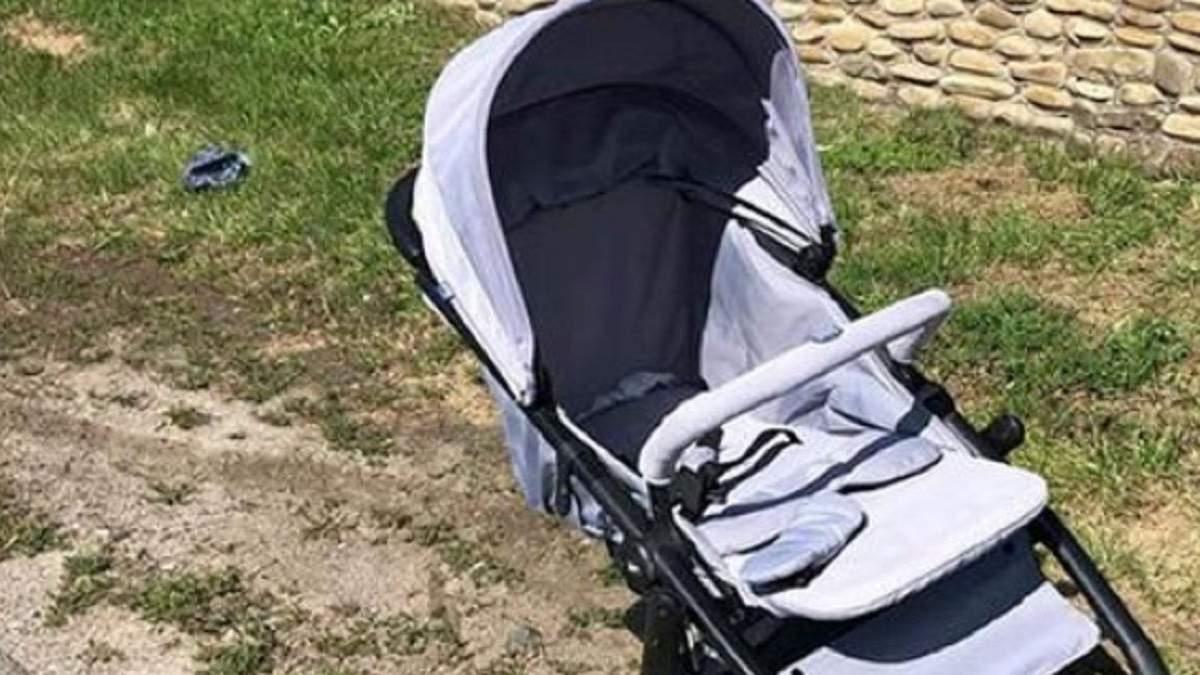Забрал из коляски и скрылся: в Запорожье разыскивают мужчину, который похитил младенца