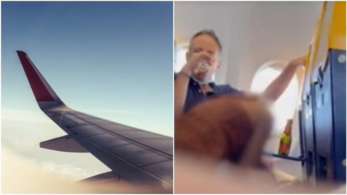 Чоловік посміхався на камеру: пасажири літака зайнялися сексом просто на борту - 24 Канал