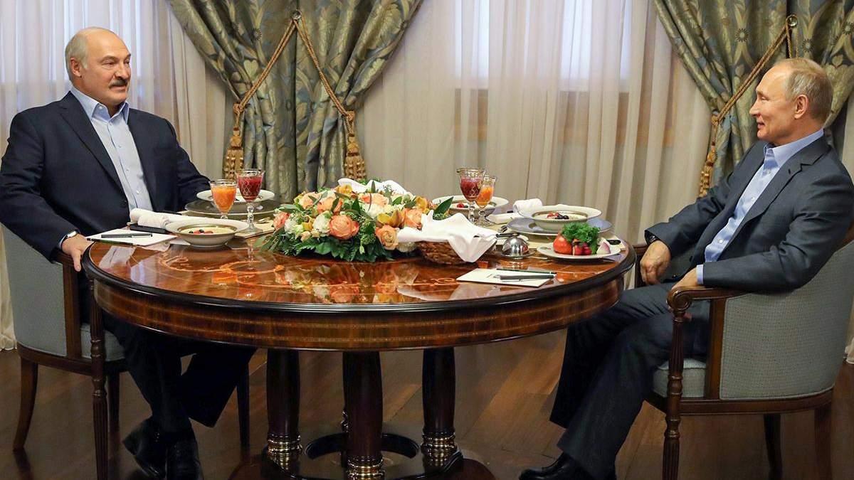 """Ибо """"Украина наступает"""": Путин обманул напуганного Лукашенко - новости Беларусь - 24 Канал"""