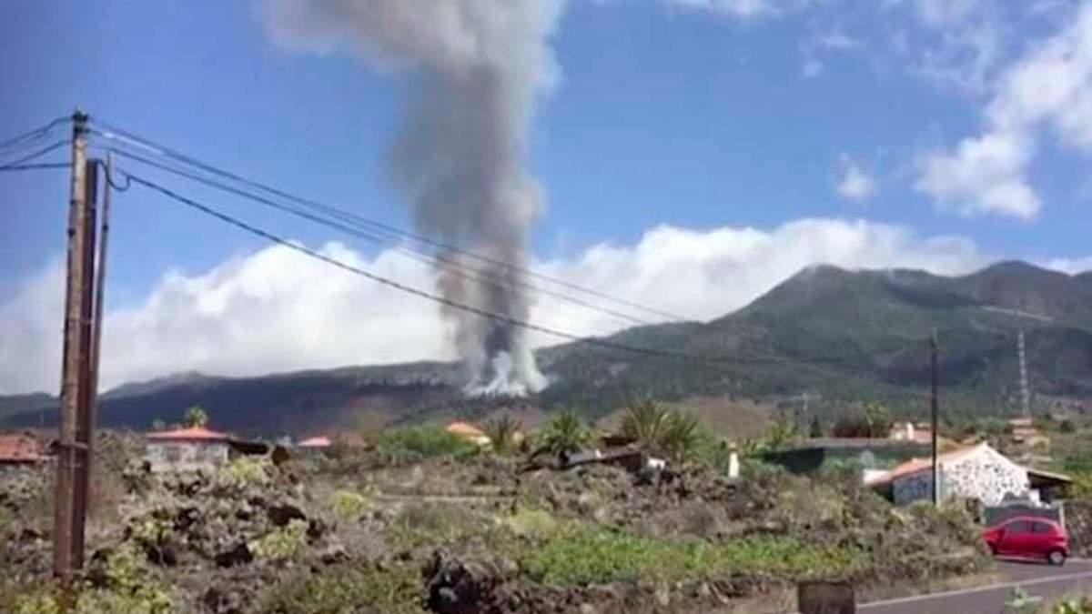 Мощный вулкан проснулся на Канарах, объявили эвакуацию: поражающе видео