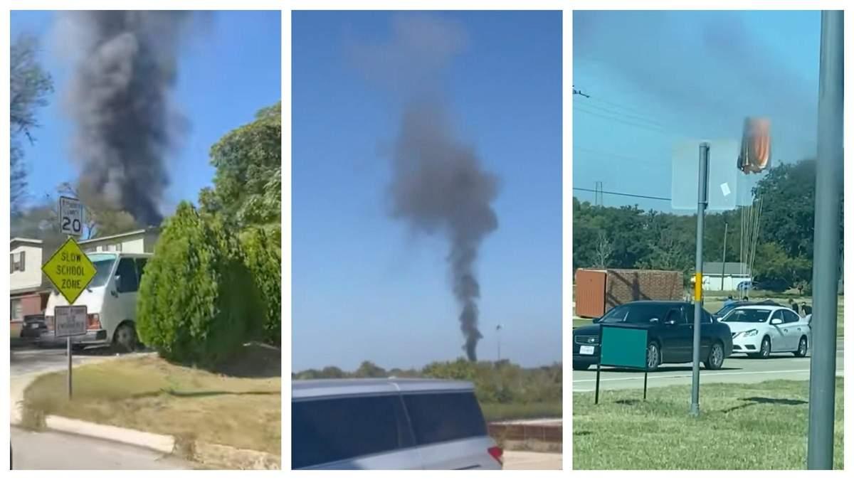 У житловому районі у Техасі розбився військовий навчальний літак - 24 Канал