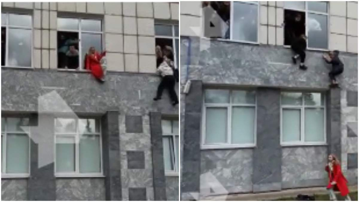 Студенти вистрибують з вікон: у Росії влаштували стрілянину в університеті, є постраждалі - 24 Канал
