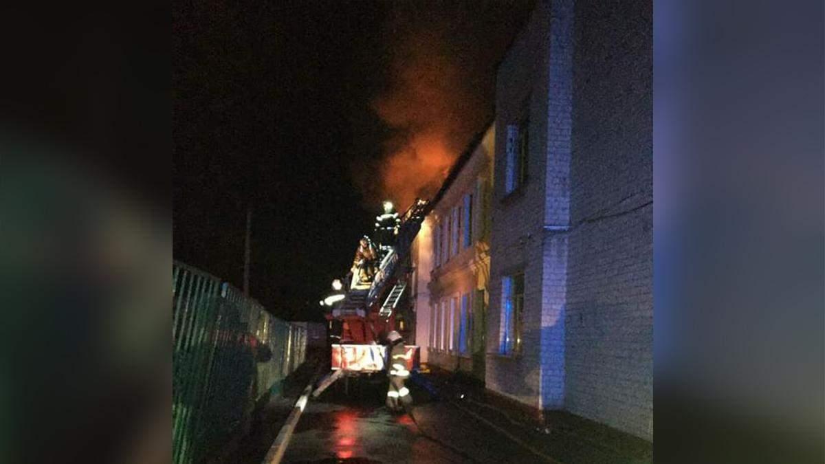 Школа палала 10 годин: назвали причину масштабної пожежі в Чугуєві - Україна новини - 24 Канал