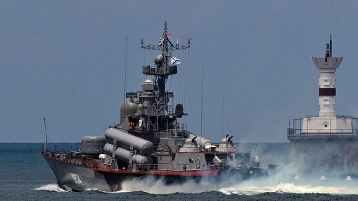 Росія почала масштабні навчання зі стрільбами у Чорному морі - 24 Канал