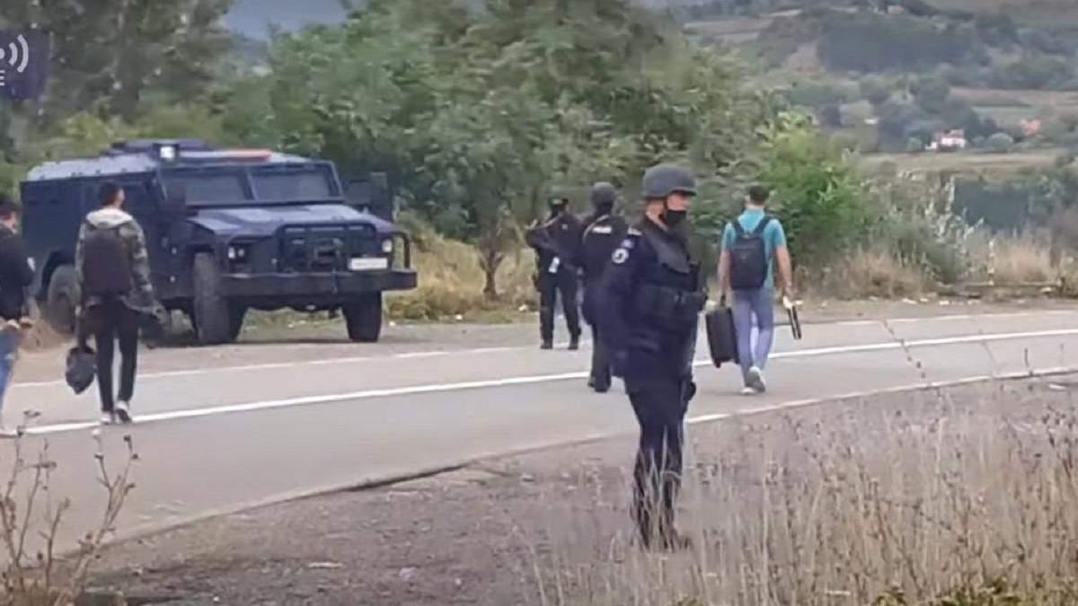 На границе Косово вспыхнули протесты из-за запрета въезда авто на сербских  номерах - Срочные новости - 24 Канал