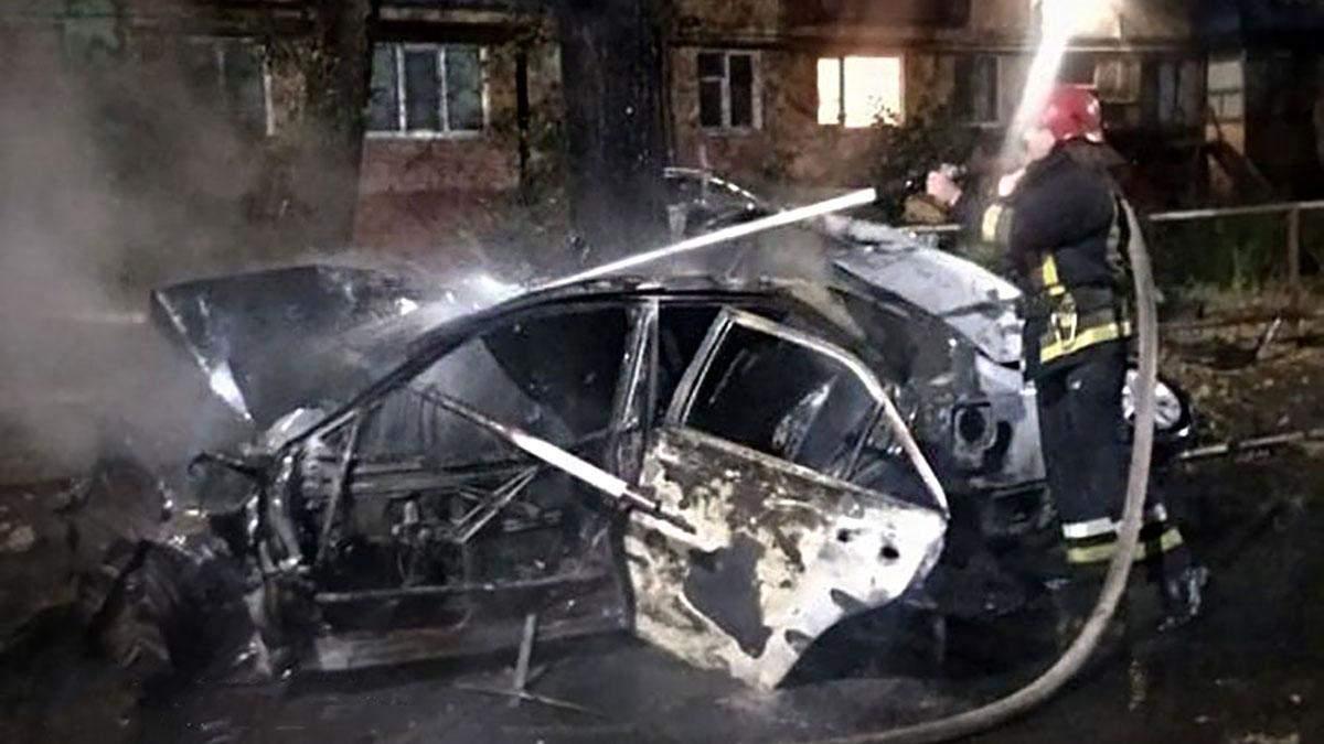 Врізалась у дерево та згоріла: трагічно загинула молода водійка з Кривого Рогу - 24 Канал
