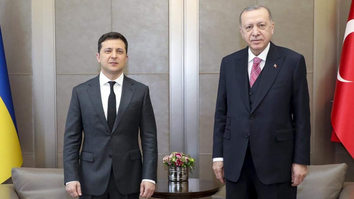 Зеленский в Нью-Йорке обсудил с Эрдоганом проблемы Крыма - новости Крыма - 24 Канал