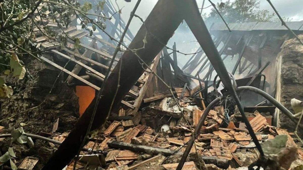 Еще один взрыв на Запорожье: разнесло хозяйственную постройку, пострадал пожилой мужчина - Новости Запорожье - 24 Канал
