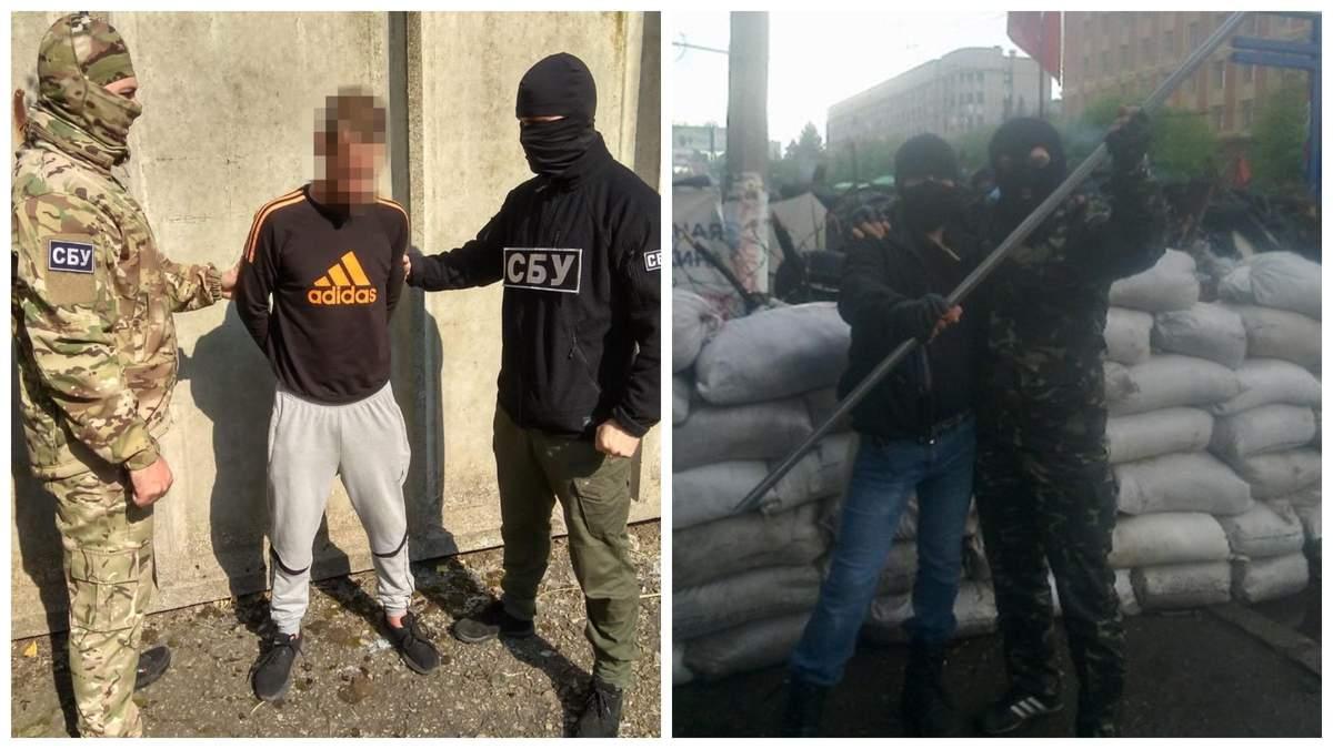 СБУ поймали боевика, который в 2014 году штурмовал здание Службы в Луганске