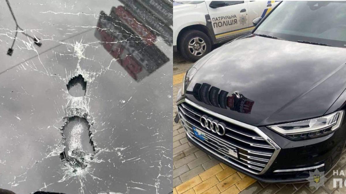 Покушение на Шефира: как выглядит изуродованное авто помощника Зеленского