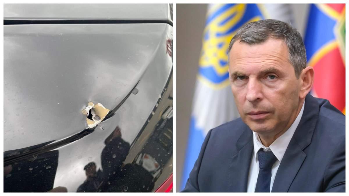 СБУ уже прибыла на место обстрела автомобиля Шефира