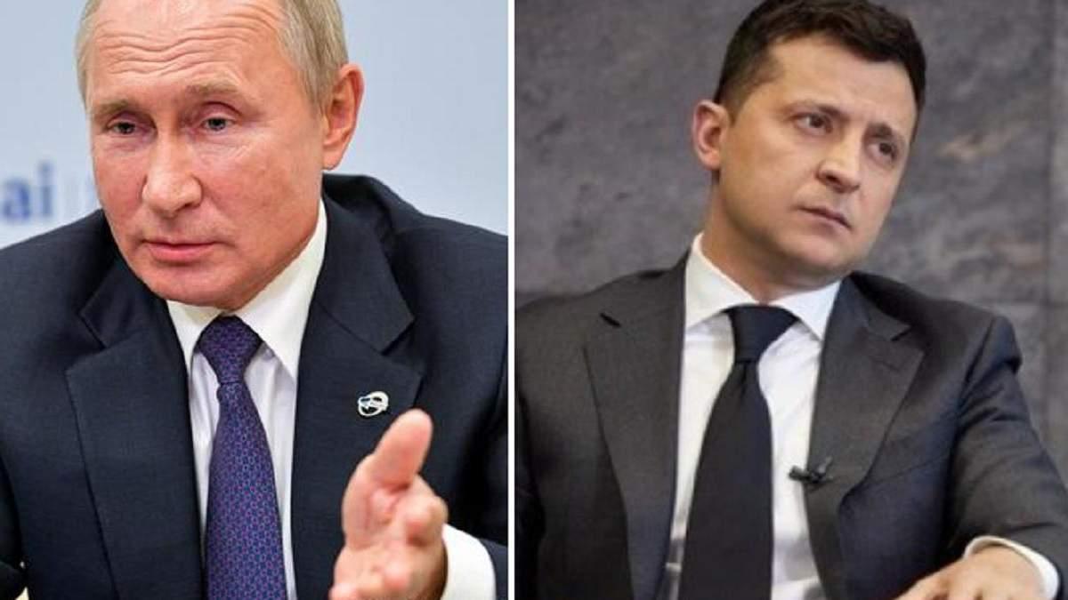 З маленьким уточненням: у Кремлі підтримали умову Зеленського для зустрічі з Путіним - Новини Росії і України - 24 Канал