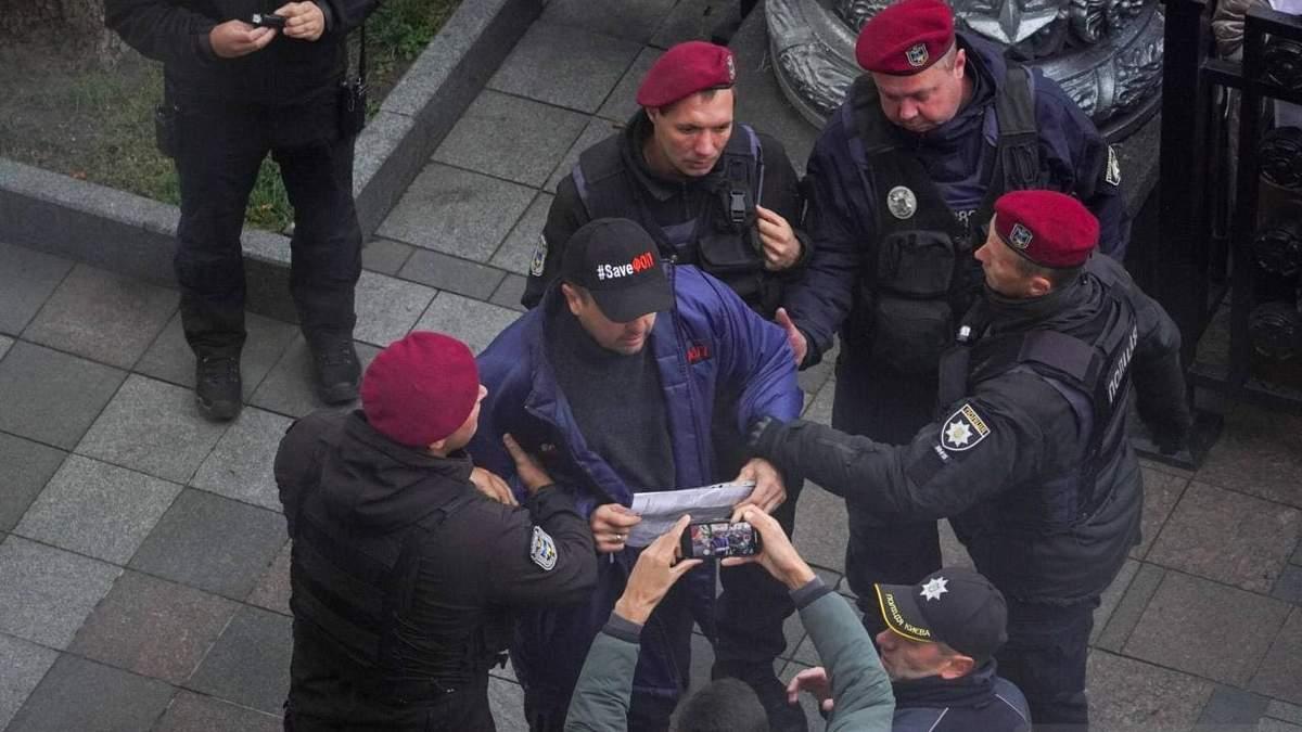 Просто закинули в машину, – лідер руху SaveФОП розповів деталі свого затримання під Радою - Новини Києва - 24 Канал