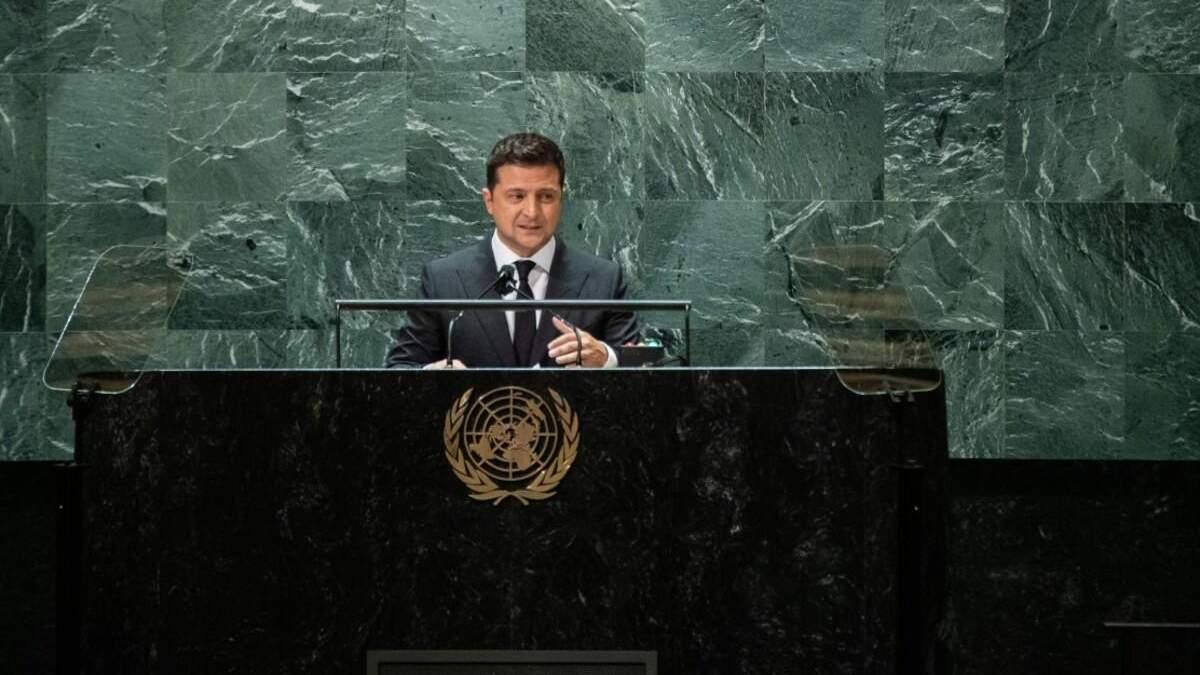 Зеленський присоромив ООН, якій не було що сказати у відповідь - Новини росії - 24 Канал