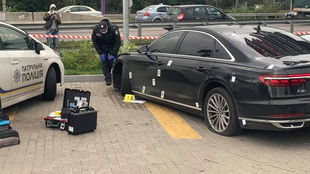 В МВД рассказали об оружии, из которого стреляли в авто Шефира - Новости криминал - 24 Канал