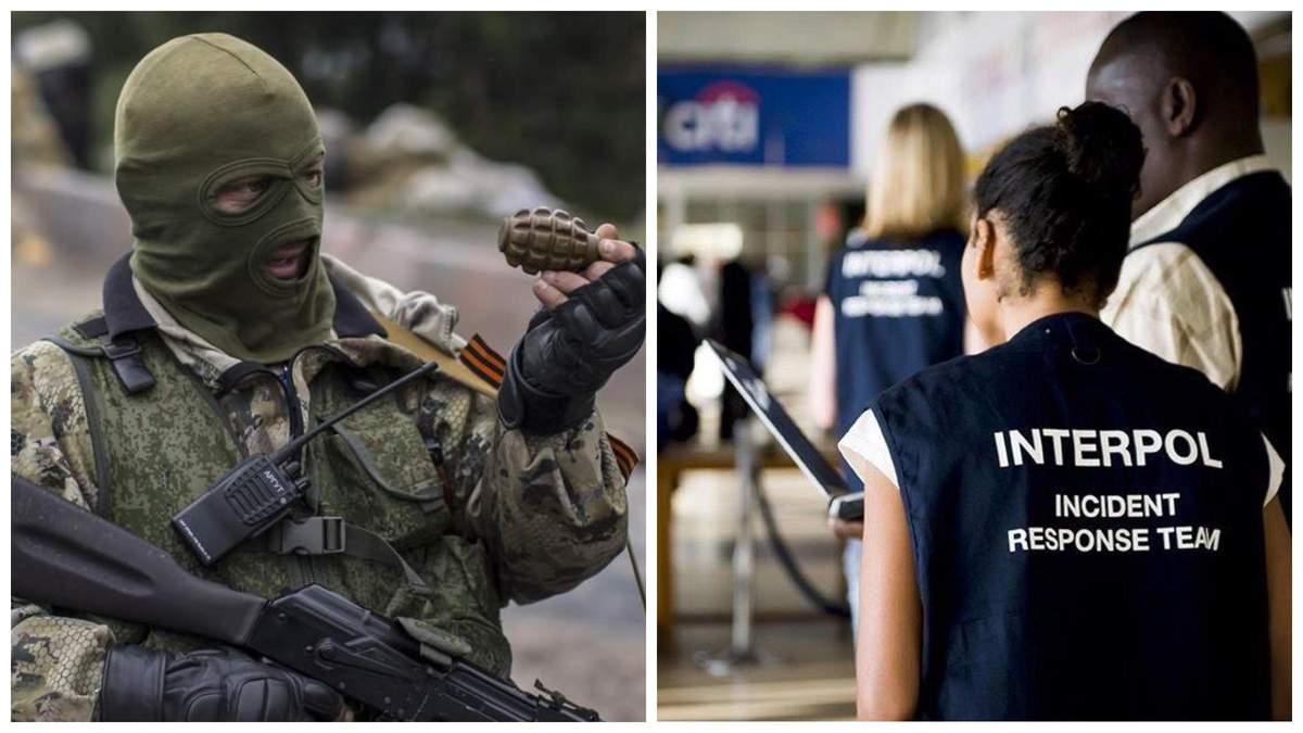Украина передаст Интерполу данные о сотнях российских наемников