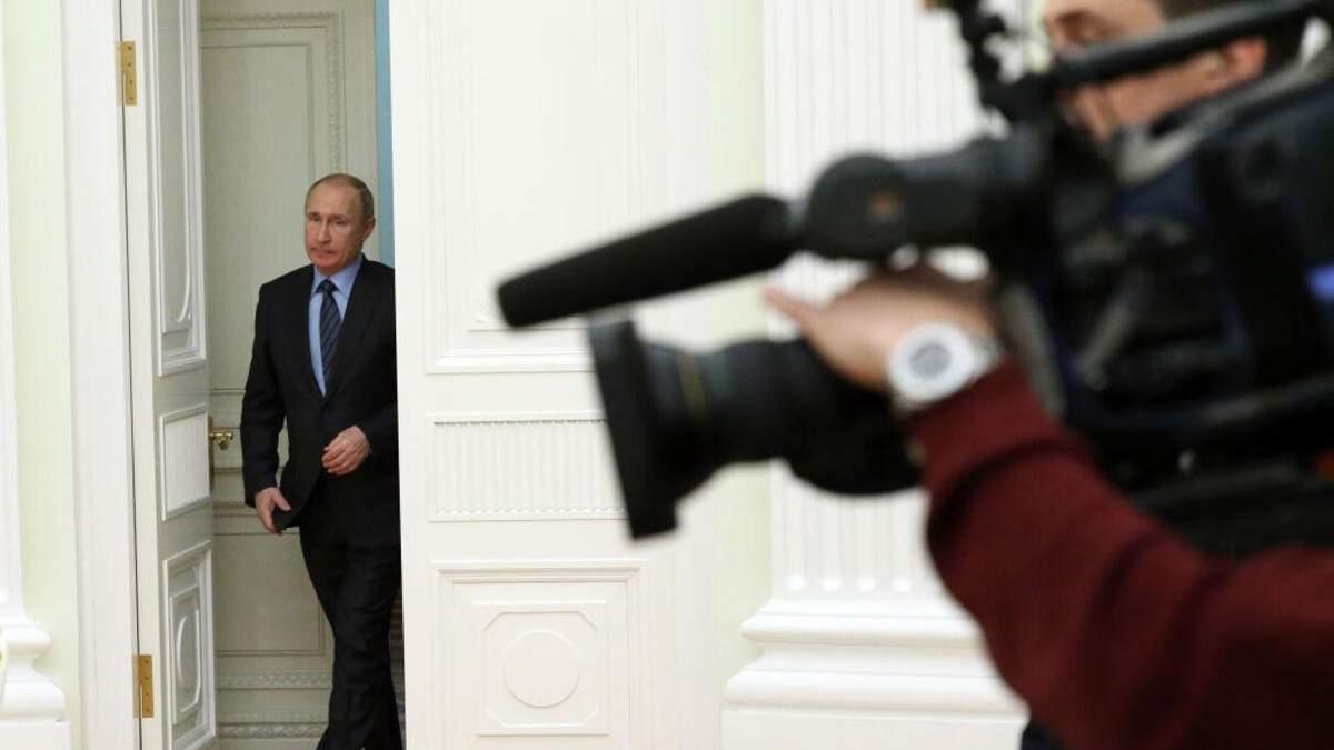 """Путін хоче, щоб ЗМІ писали на держзамовлення, а не """"копирсалися у брудній білизні"""" - Новини росії - 24 Канал"""