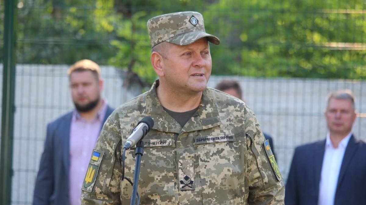 Користуємося даними розвідки, – Залужний про кількість кадрових російських військових на Донбасі - 24 Канал