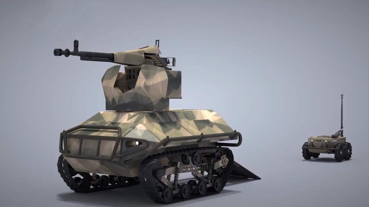 """Уникальный роботоносец """"Скорпион 2"""" держит в страхе врага – Техника войны"""