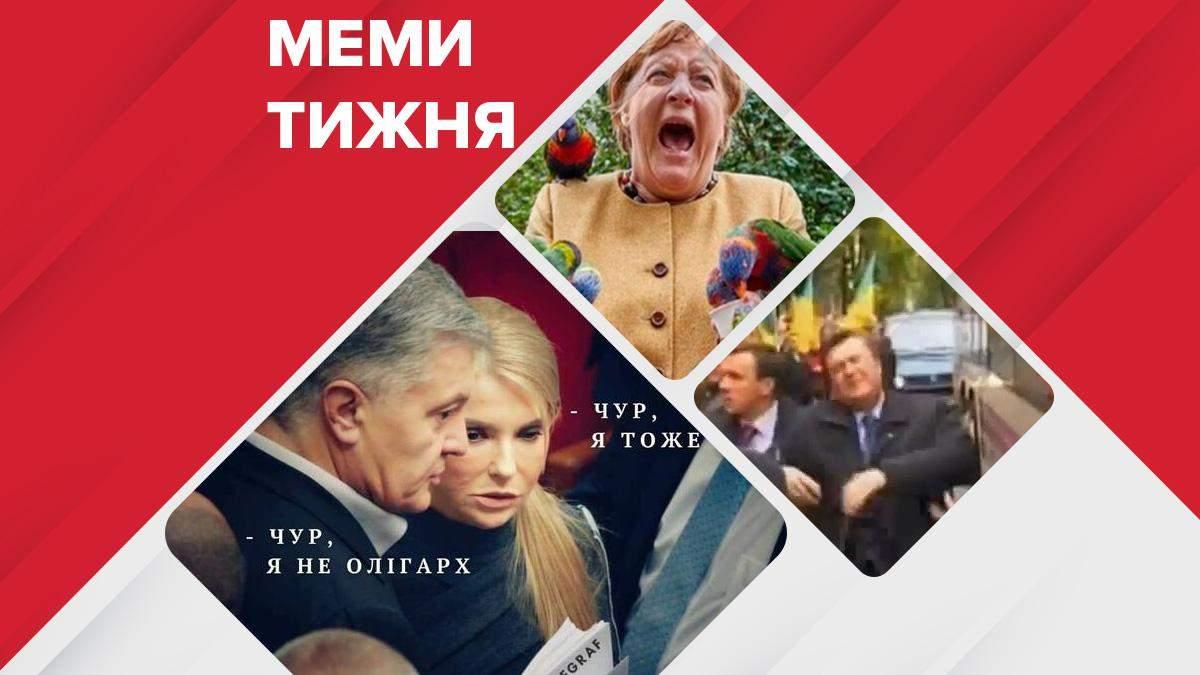 """Найсмішніші меми тижня: легендарний """"замах"""" на Януковича, папуги напали на Меркель - Гарячі новини - 24 Канал"""