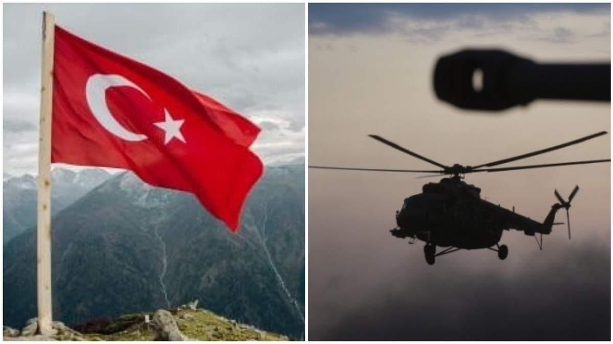 Турция обстреляла российские вертолеты в Сирии перед визитом Эрдогана к Путину
