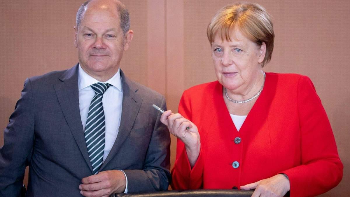 Україна має залишатися транзитером газу, – кандидат у канцлери Німеччини Шольц - 24 Канал