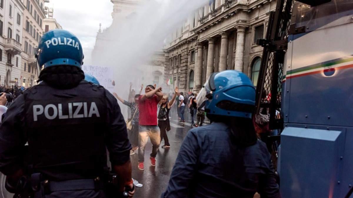 Італія оголошує війну неофашистам через антиковідні протести - 24 Канал